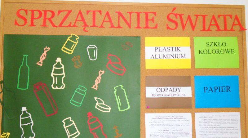 Wiosenne sprzątanie Kraczewic – zmiana terminu