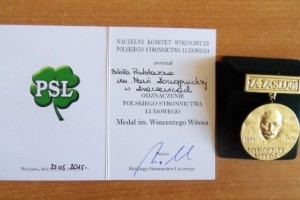 Medal im. Wincentego Witosa